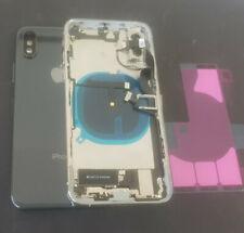 Rahmen für Original iPhone XS Gehäuse Glas Backcover Rückdeckel Vormontierte