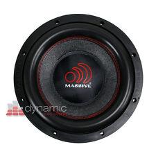 "Massive Audio SUMMO 8 Car Audio 8"" Summo DVC 4 Ohm 84 8-4 Subwoofer 600W New"