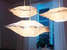 "NEW IKEA VARMLUFT 46  PENDANT LAMP SHADE OFF-WHITE SQUARE OFF-WHITE 18 X 18 """