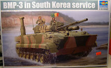 RUSSIAN BMP3 TANK IN SOUTH KOREAN SERVICE TRUMPETER 1:35 SCALE PLASTIC MODEL KIT