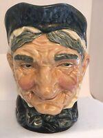 "Granny Toby Mug Royal Doulton Jug 6 1/2"" Mark A Large United Kingdom England"