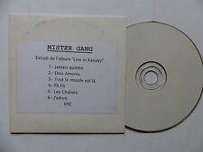 CD Sampler 6 titres MISTER GANG Extrait de Live in Kanaky REGGAE