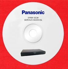 Panasonic dmr-ez28 Repair Service manual on 1 cd in pdf format