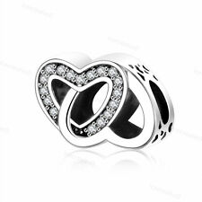 Fashion European 925 Sterling Silver Charms Bead For Bracelet Chain Necklace CA1