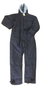 Genuine British Black Rip-stop ECW Technician Coveralls Cold Weather MED G1 #288