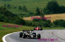 Nigel Mansell JPS Lotus 95T Austrian Grand Prix 1984 Photograph 3