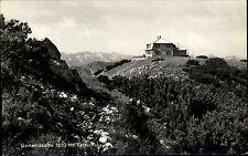 Gemeindealpe Niederösterreich Ansichtskarte ~1950/60 Tezerhaus auf dem Gipfel