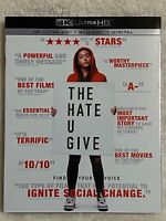 THE HATE U GIVE (2018) - 4K Ultra HD UHD disc only (No Blu-ray & Digital Copy)