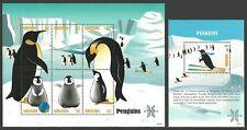 GRENADA 2007 BIRDS PENGUINS SPORT SKIING POLAR YEAR SET & M/SHEET MNH