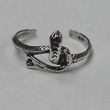 Toe Ring (Tr047) Sterling Silver - Snake