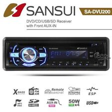 Car Audio In-Dash CD Players with Auxiliary Input