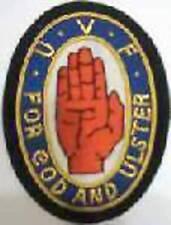 UK British Irish BEF Army Regiment Crest Patch Ulster Red Hand Volunteer Force U