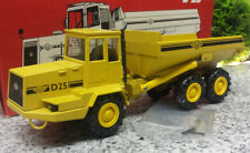 O&k d 25 camiones de volteo Dumper amarillo 1:50 orejas piedra y acoplamiento Conrad en OVP