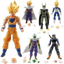 6Pcs Dragonball Z Dragon ball Dbz Goku Piccolo Action Figure Toy Set Anime