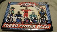 Power Rangers Turbo Power Pack Red Blue Green Hammeron Amphibitor NEW