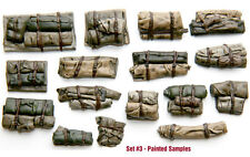 1/35 Scale resin kit Tents & Tarps Set  #3 ideal tank stowage