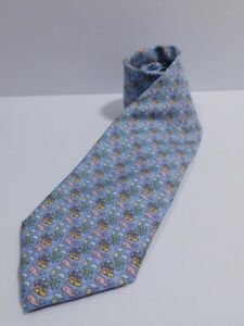 VINEYARD VINES Men's Blue Tropical Island Silk Tie ($85)