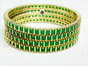 Indian Bollywood Wedding Stones Fashion Traditional Jewelry Bangles Casual Wear