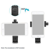Neewer Smartphone Holder Vertical Bracket Clip Tripod Adapter for iPhone X 8 7 6