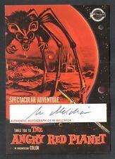 Vintage Posters Sci-Fi & Horror 1 Breygent Autograph Card #Imac Ib Melchior