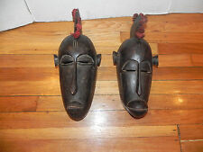 "Arts of Africa - Dogan Mask - Male/ Female - Mali - 17"" Height x 6"" Wide"