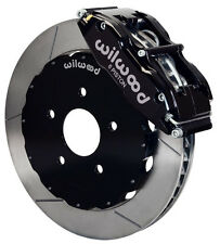 "WILWOOD DISC BRAKE KIT,FRONT,94-04 FORD MUSTANG,13"" ROTORS,BLACK CALIPERS"