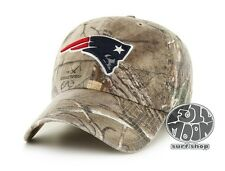 New NFL New England Patriots Camo Clean Up Mens Adjustable Realtree Cap Hat
