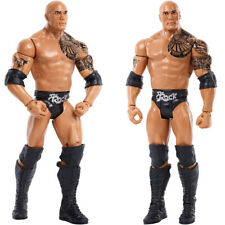 RAW WWE Basic Series 65 The Rock Wrestling Action Figure Kid Child Toys Gift