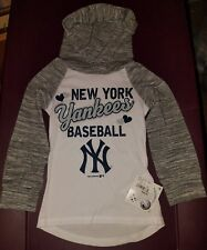 Team Athletics New York Yankees Baseball Girl's XS (4/5)  Hoodie Shirt [NWT]