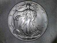 2004 AMERICAN SILVER EAGLE COIN  {UNC}  1  OZ .999  PURE FINE SILVER BULLION