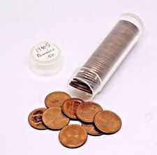 1940-S ROLL OF BU UNCIRCULATED LINCOLN PENNIES.  RED NICE LOT!