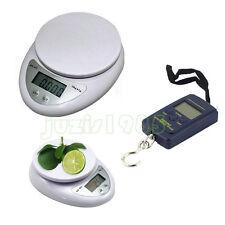 5kg/1g 40kg/10g Digital Electronic Kitchen Food Postal Scale Weight Balance SA