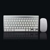 2.4Ghz Ultra-Thin Wireless Keyboard And Mouse Combo With USB Receiver Mouse F1Y6