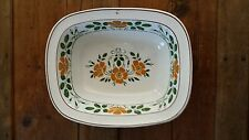 Villeroy & Boch Dresden Saxony Yellow Flowers - Rectangle Serving Dish