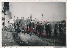Nr.24986 Foto Deutsche Wehrmacht in Polen  Juden bei Arbeit 6 x 9 cm