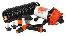 SEAFLO 12V 5.5 GPM 70 PSI Washdown Deck Pump KIT Rv Boat Marine 4 Year Warranty