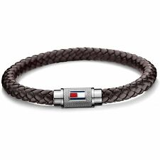 Tommy Hilfiger 2700998 Casual Core Leather Bracelet