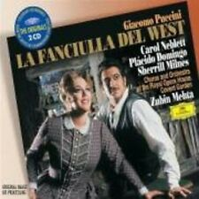 Zubin Mehta, G. Pucc - Fanciulla Del West (Complete) [New CD] UK - Import