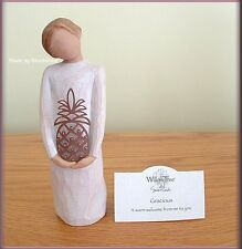 Gracious Figure With Pineapple Willow Tree® Signature Collection Free U.S. Ship