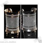 Stupéfiant Fête Paillettes Bracelet en argent or couleur