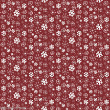 130 x 110cm  xmas red snowflake snowy PVC wipe clean oilcloth  TABLECLOTH