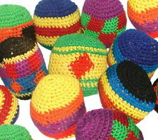 Wholesale Lot 48 Kick Balls Woven Hacky Sack Foot Balls Bags Hackey Party