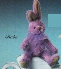 Precious Paws Lavender Bunny - Babe