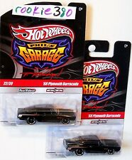 2010 Hot Wheels PHIL'S GARAGE #22 * '68 PLYMOUTH BARRACUDA *  LOT OF 2 HEMI CUDA