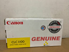 Genuine Canon CLC1100 Yellow Toner Cartridge 1441A003 for CLC1100/1150/1120/1180