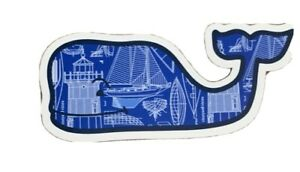 NEW AUTHENTIC VINEYARD VINES BLUE WHALE STICKER DECAL  — FREE SHIP