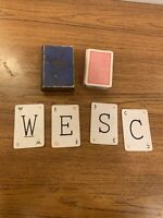LEXICON VINTAGE CARD GAME - WADDINGTONS - BY ATOZED