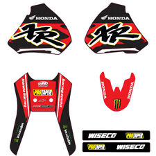 TEAM HONDA GRAPHICS XR250 XR400 96 97 98 99 2000 2001 2002 03 04 XR400R  XR250R