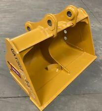 New 48 Caterpillar Cat 307 308 50mm Pin Grading Smooth Bucket