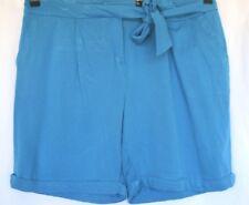 Woman's Blue Shorts - Rockmans - Size 16